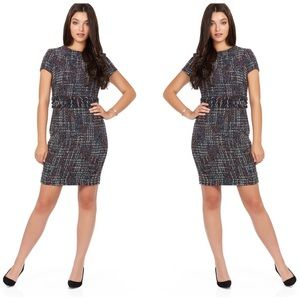 Forest Lily   Multi Color Boucle Dress